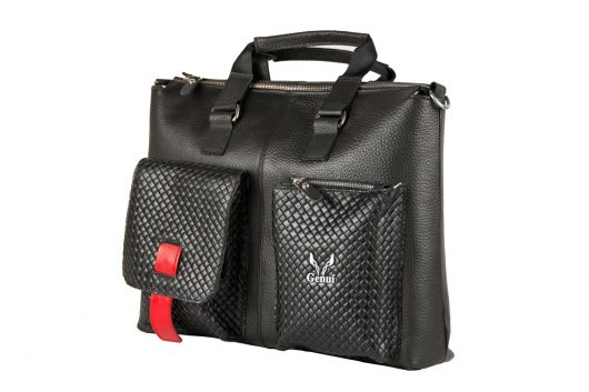 Messenger Bag Mαύρο