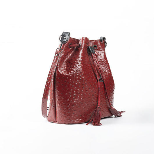 3 IN 1 BUCKET BAG IN RED