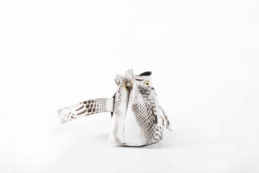 Πουγκί μέσης 2 σε 1 Λευκο