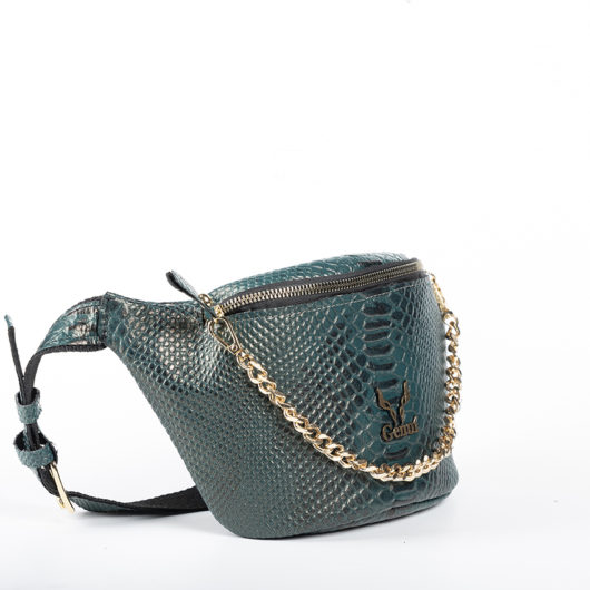 BELT BAG IN DARK GREEN