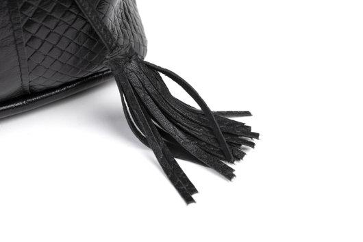 Πουγκι 3 σε 1 Μαυρο Ψαθα